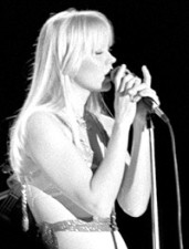 A cantora Agnetha Fältskog