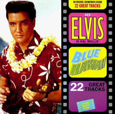 Elvis Blue Hawai Ukulele