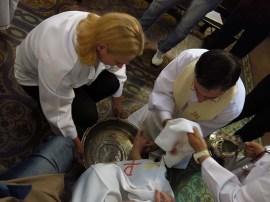 Igreja Divino Espirito Santo Missa Quinta Feira Santa 2014 Lava Pés (06)