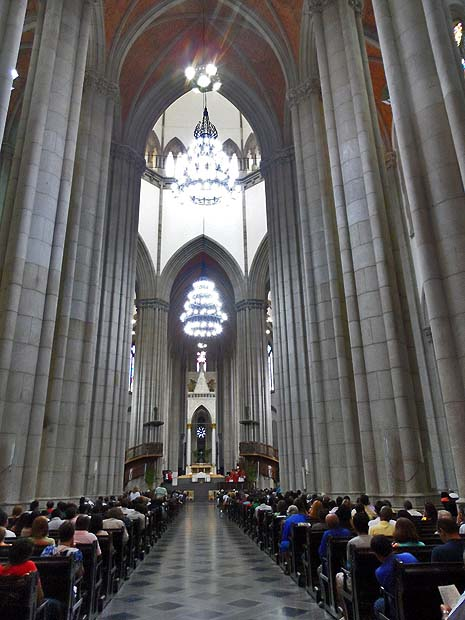 Catedral da Sé no Domingo de Ramos de 2014