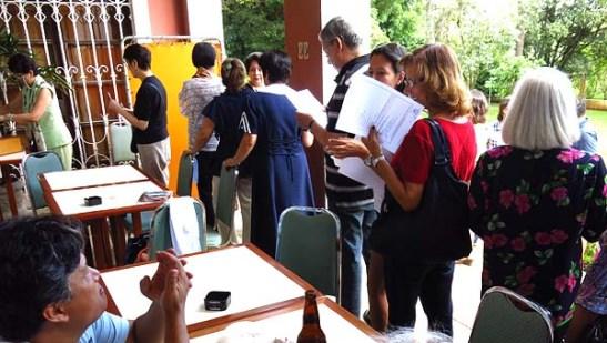Associados viveram o dia das eleições em março de 2014