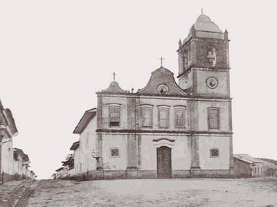 Antiga Igreja de Santa Ifigênia demolida em 1905