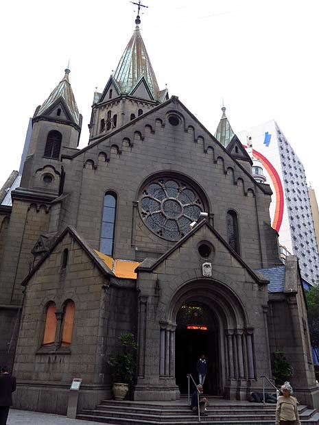 Igreja de Santa Ifigênia, em São Paulo