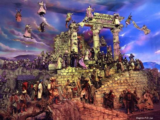 Cena da natividade de Jesus de Nazaré