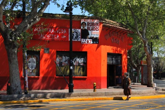 Chile Santiago bairro Bellavista (11)