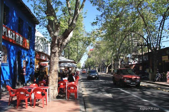 Chile Santiago bairro Bellavista (13)