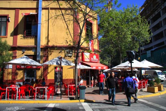 Chile Santiago bairro Bellavista (14)