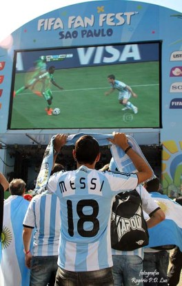 Copa Mundo Fifa Fan Fest ArgentinaxNigeria (26)