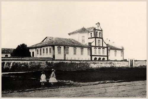 Mosteiro da Luz.1875