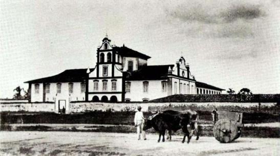 O Mosteiro da Luz em 1867