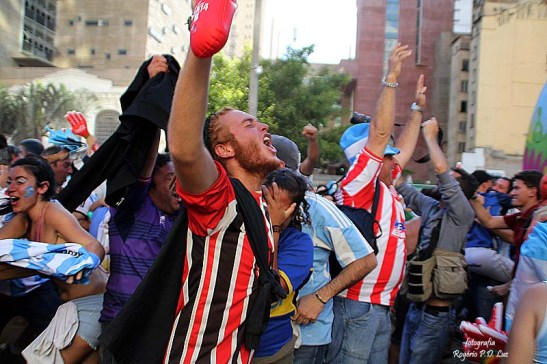 gooool da Argentina ... grita o torcedor