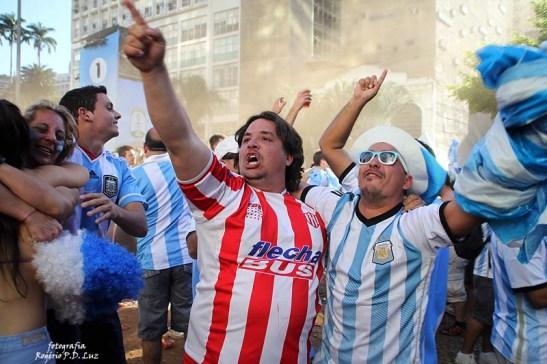 Copa do Mundo 2014. Fifa Fan Fest Sao Paulo. ArgentinaxSuiça (10)