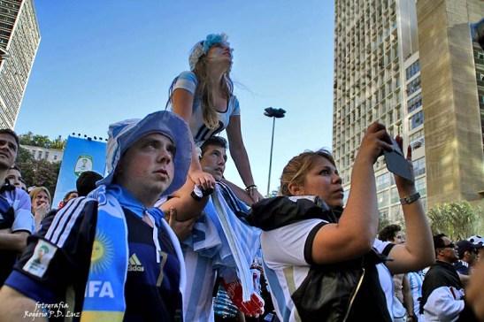 Copa do Mundo 2014. Fifa Fan Fest Sao Paulo. ArgentinaxSuiça (11)