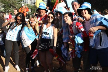 Copa do Mundo 2014. Fifa Fan Fest Sao Paulo. ArgentinaxSuiça (20)