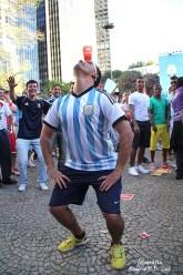 Copa do Mundo 2014. Fifa Fan Fest Sao Paulo. ArgentinaxSuiça (25)
