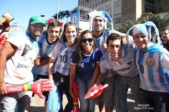 Copa do Mundo 2014. Fifa Fan Fest Sao Paulo. ArgentinaxSuiça (26)