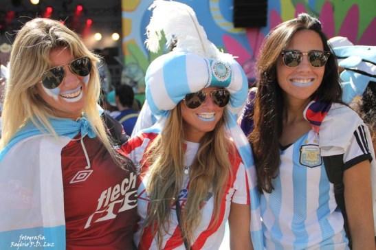 Copa do Mundo 2014. Fifa Fan Fest Sao Paulo. ArgentinaxSuiça (27)