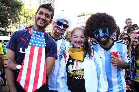 Copa do Mundo 2014. Fifa Fan Fest Sao Paulo. ArgentinaxSuiça (30)