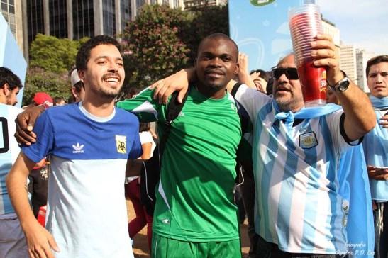 Copa Mundo Fifa Fan Fest ArgentinaxNigeria (55)