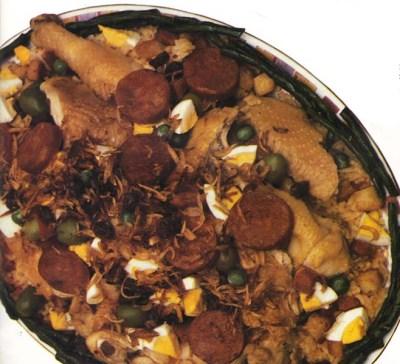 Cecilia Jorge arroz gordo