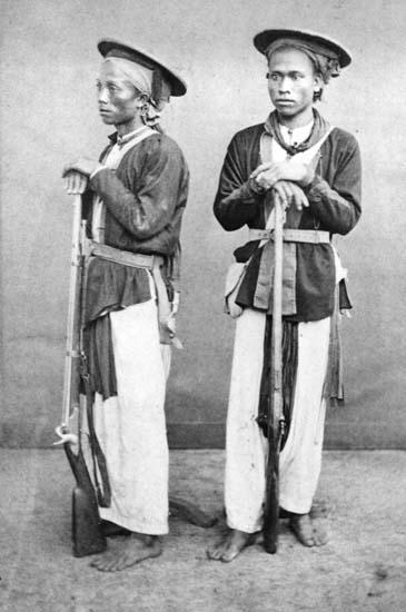 Exército chinês de 1885