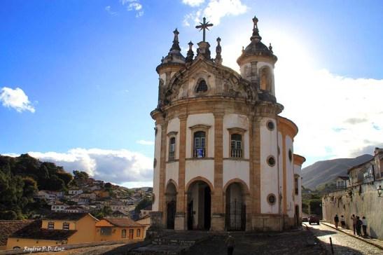 Igreja Nossa Senhora do Rosário dos Pretos, Ouro Preto, estado de Minas Gerais, Brasil