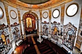 Ouro Preto.Igreja N.Sra.Rosario dos Pretos interior