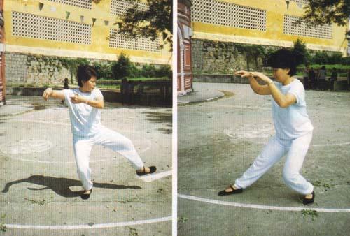 movimentos leves e circulares a par da técnica respiratória - o segredo do Tai Chi