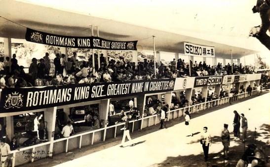GP Macau 1966 stand arquibancada