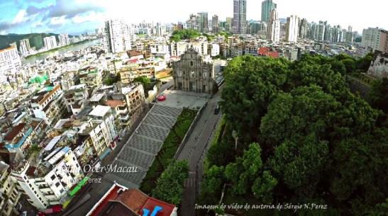 Macau do video de drone de Sergio Perez cópia