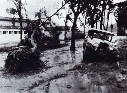 Tufão em Macau nos anos 30