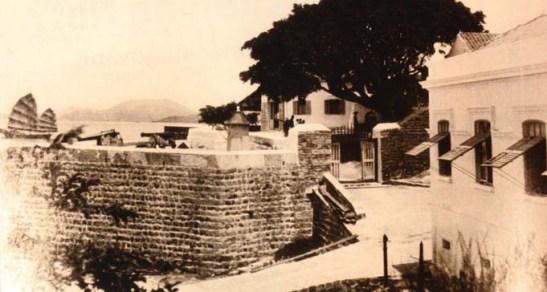 Forte da Ilha da Taipa, ca 1900