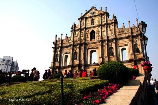Ruínas de São Paulo em Macau