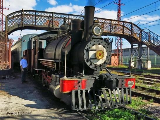 Trem a vapor - Maria Fumaça