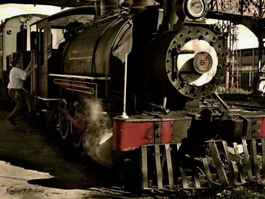 Maria Fumaça trem estação Museu Imigração retrô 2 (07)