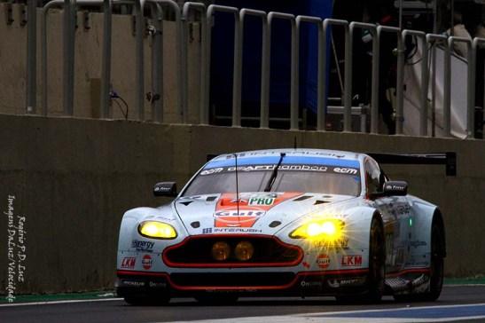 Na categoria LMGTE Pro este Aston Martin Vantage V8 ficou em 1º