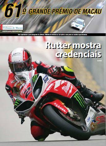 Grande Premio de Macau 2014 suplemento JTM