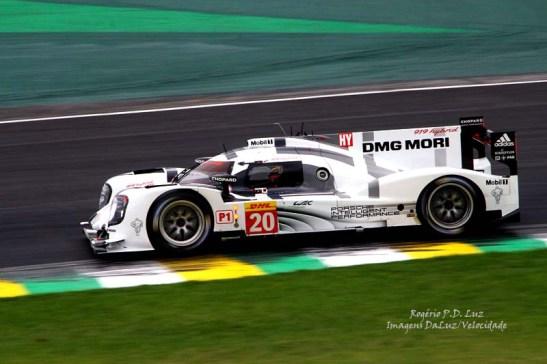 Porsche 919 híbrido?LMP1 nº 20 de Timo Bernhard, Mark Webber, Brendon Hartley