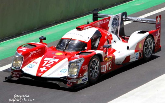 Rebellion R-One Toyota #12 (101
