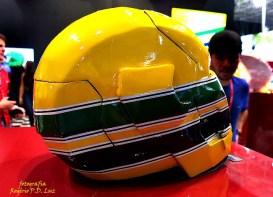 Salão Automoveis 2014 homenagem Ayrton Senna capacete Adriana Machado (18.1)