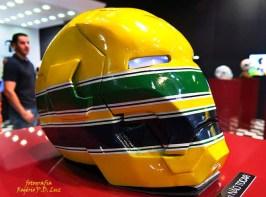 Salão Automoveis 2014 homenagem Ayrton Senna capacete Adriana Machado (18)