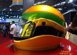 Salão Automoveis 2014 homenagem Ayrton Senna capacete Alan Mosca (10.1)