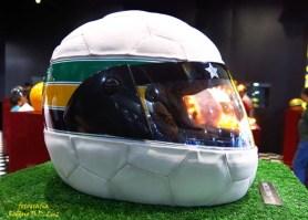 Salão Automoveis 2014 homenagem Ayrton Senna capacete Daniel Alves (19.1)