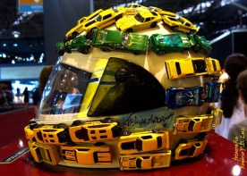 Salão Automoveis 2014 homenagem Ayrton Senna capacete Felipe Andreoli (01)
