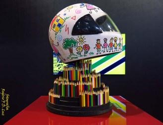 Salão Automoveis 2014 homenagem Ayrton Senna capacete Paulo Barros (07)