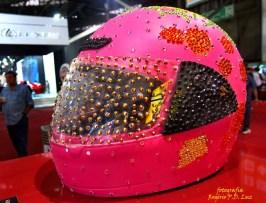Salão Automoveis 2014 homenagem Ayrton Senna capacete Preta Gil (20)