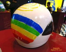 Salão Automoveis 2014 homenagem Ayrton Senna capacete Priscila Fantim (03.1)