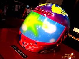 Salão Automoveis 2014 homenagem Ayrton Senna capacete Reynaldo Gianecchini (16.1)