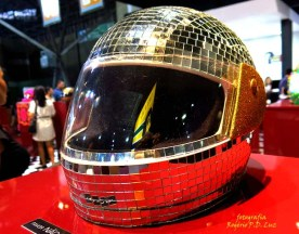Salão Automoveis 2014 homenagem Ayrton Senna capacete Rogério Flausino (09)