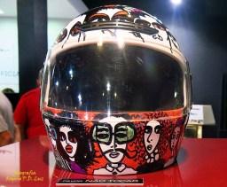 Salão Automoveis 2014 homenagem Ayrton Senna capacete Ronaldo Fraga (06)